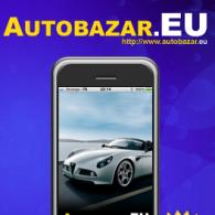 Autobazár.EU - stránka po príchode z iPhona