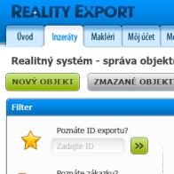 Reality Export admin